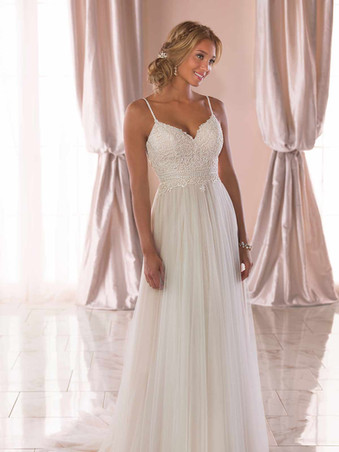 6788 Stella York   Casual Boho Wedding Dress