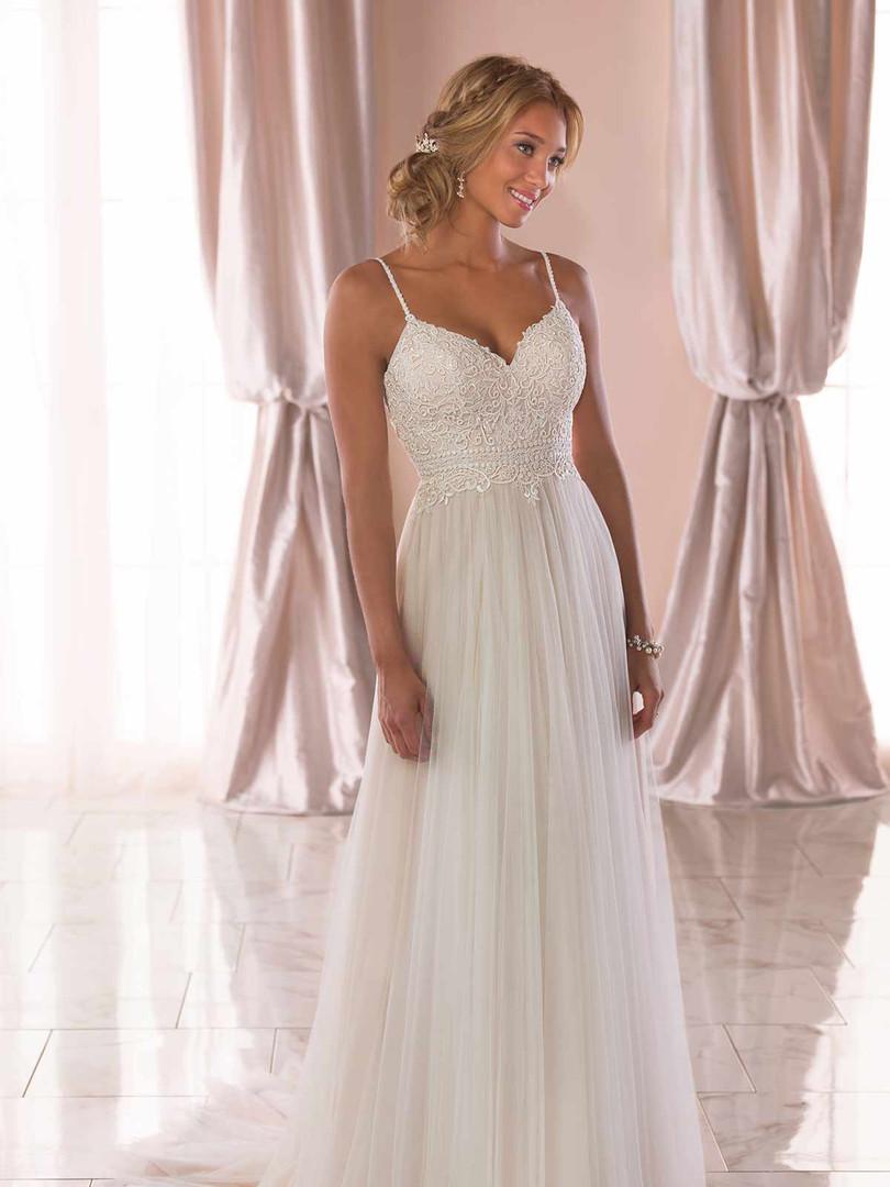 6788 Stella York | Casual Boho Wedding Dress