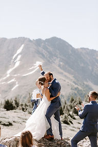 Stella York Ballgown | Mountain Elopement | Real Bride Inspo from Rebecca's Wedding Boutique in Louisville, KY