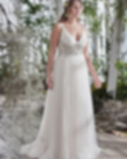 Maggie Sottero Plus Size Wedding Dress Phyllis at Rebecca's Louisville