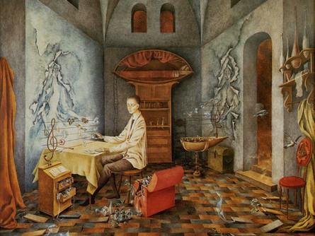 Robert Schumann y Remedios Varo