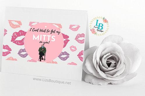 Bernie Valentines Day Card