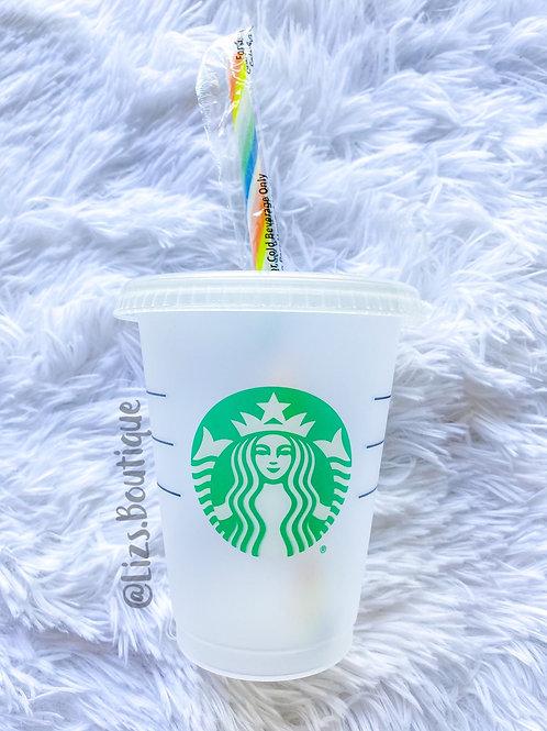 Grande Starbucks tumbler