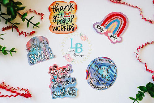 Small business stickers