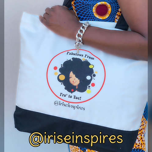 Fabulous from Fro to Toe Tote bag