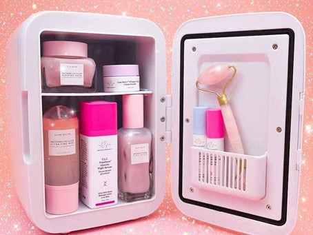 Should Skincare and Makeup Be Refrigerated? - Skincare Mini Fridge Trend