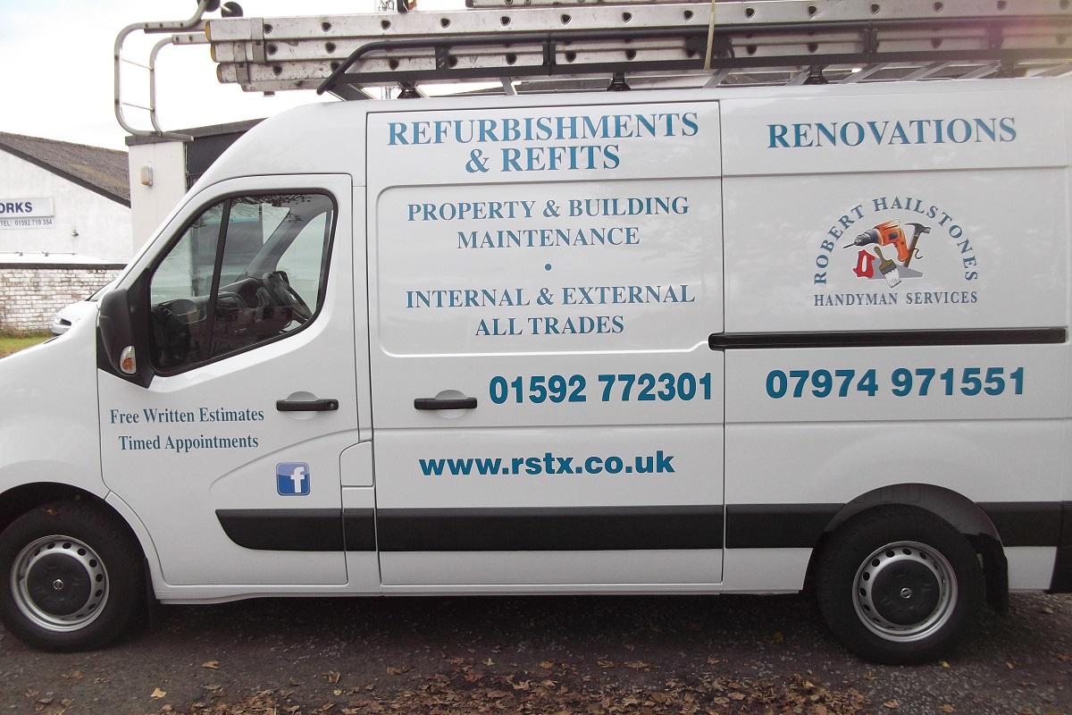 Van Signs Fife