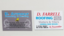 Magnetic Business Card Fife