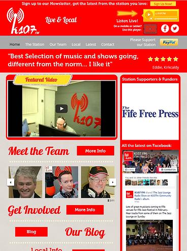 K107 FM - KIRKCALDY COMMUNITY RADIO