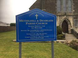 Church Free Standing Sign Fife