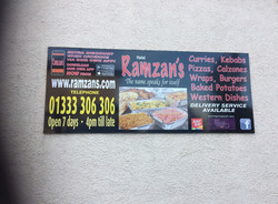 Takeaway Signage Leven