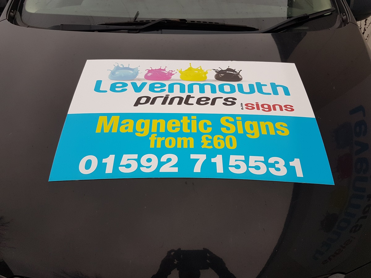 Magnetic Signage Leven