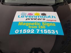 Magnetic Signage Leven