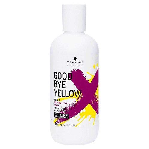 Schwarzkopf Goodbye Yellow Shampoo (300ml)