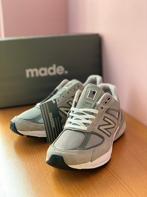New Balance 990 V5 Made in USA (Grey) Women