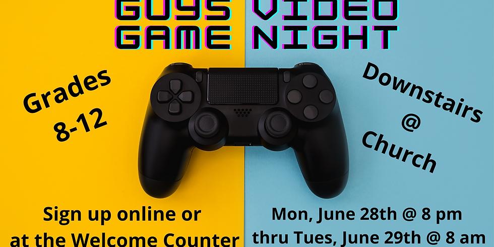 BYM Guys Video Game Night