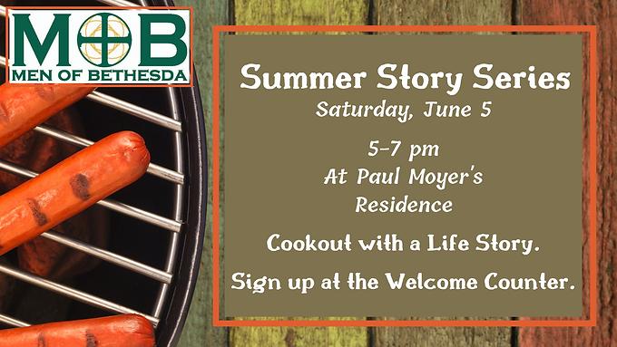 MOB Summer Stories Series