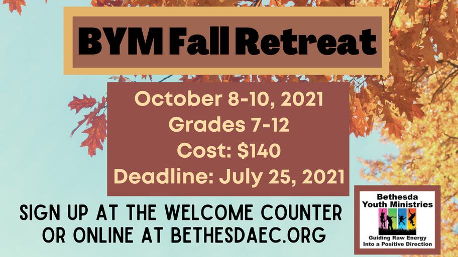 BYM Fall Retreat 2021