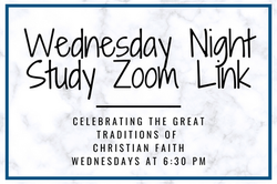 Wednesday Night Ministries Zoom Link