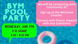 BYM Pool Party