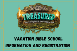 Vacation Bible School Information and Re