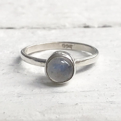 Moonstone Midi Ring