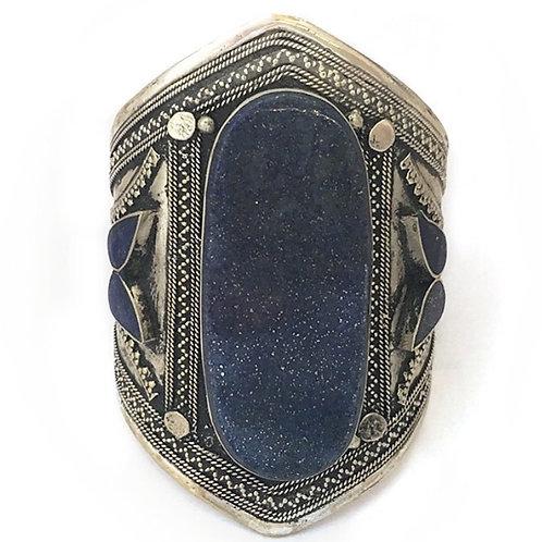 Lapus Lazuli Cuff