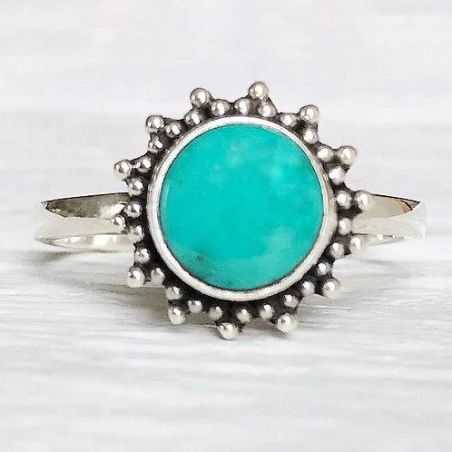 Turquoise Sun Ring
