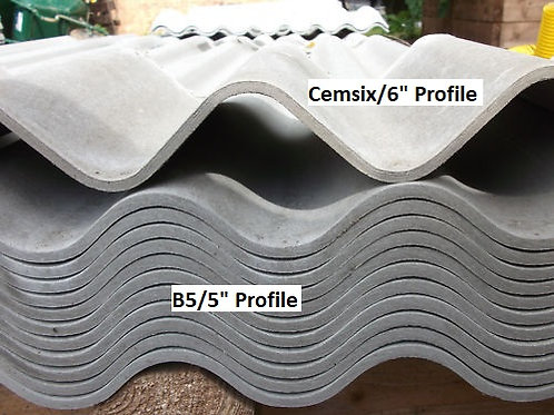 Cembrit B5 Fibre Cement Roofing Sheets