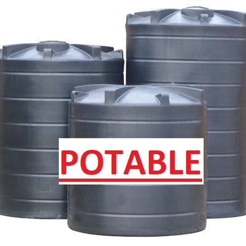 Above Ground Water Tanks POTABLE