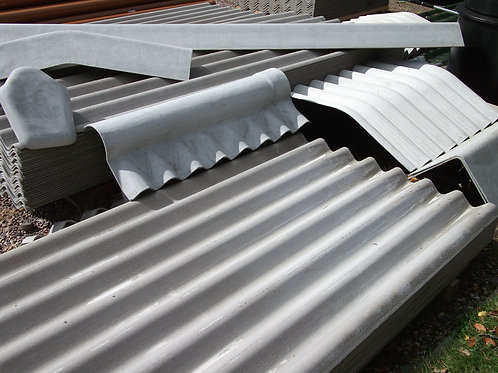 Cembrit Cemsix/Big Six Fibre Cement Roofing Sheets