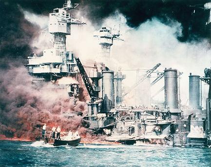 WW2 Battleships at Pearl Harbor.jpg