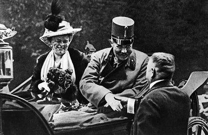 WW1 Franz Ferdinand Archduke of Austria.