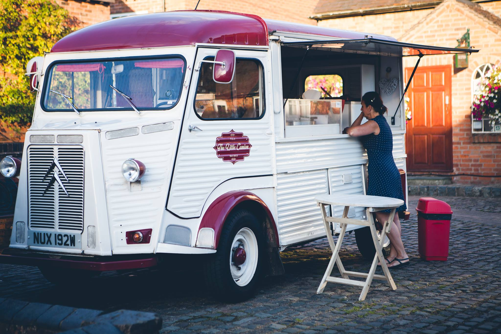 Crepe Van at Nettle Hill Weddings