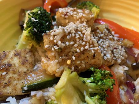 Recipe of the Week- Orange Tofu
