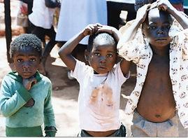 Zimbabwe children, Help International
