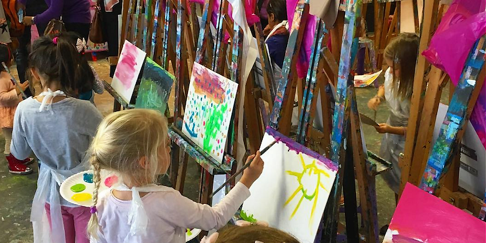 Thursday 1pm Session Paint Explorers 8 week class for 2-4 year old's