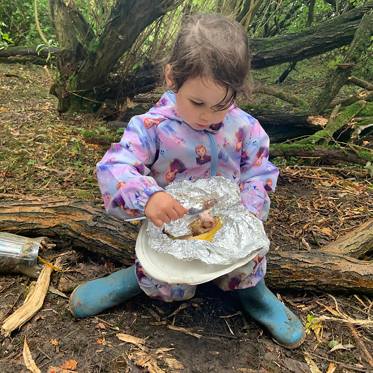 Friday Forest School (2-4 year olds) 10am-12pm  Sep-Oct