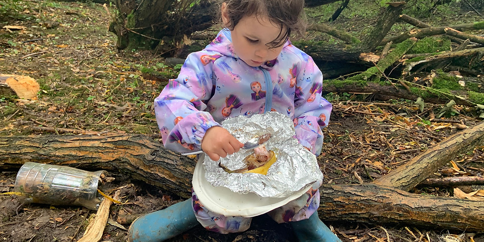 Forest School aged 3+  Friday 12:45pm-2:45pm Summer term