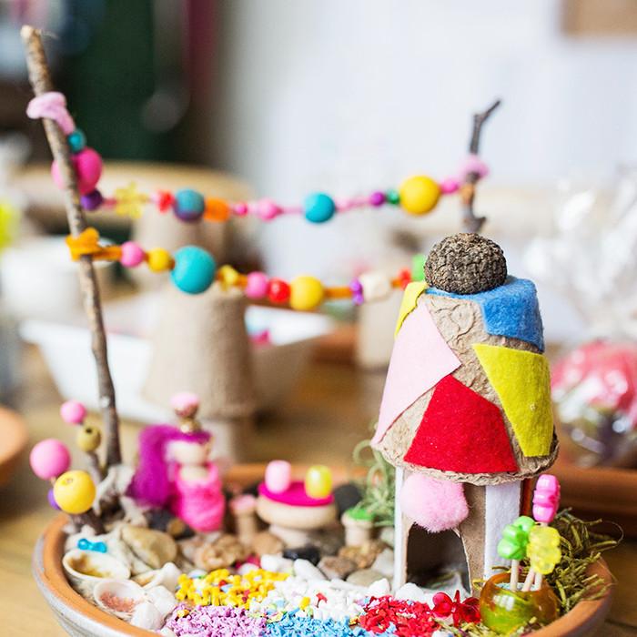 Fairy Garden Making