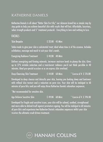 HCBT Price List Page 2