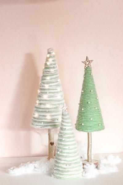 3 Handmade ChristmasTrees