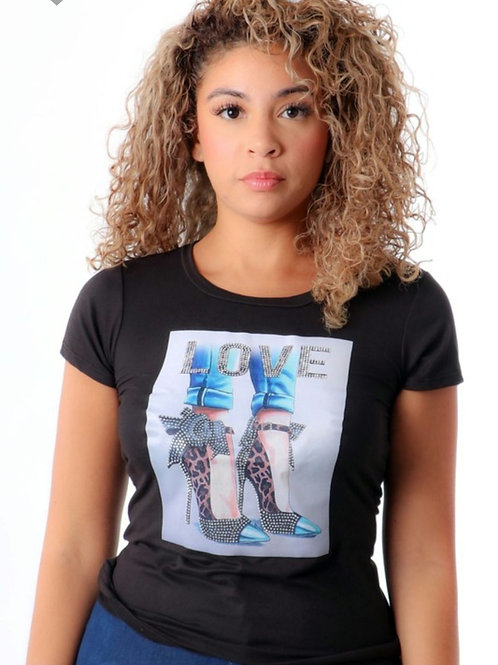 I Love My High Heel Tee