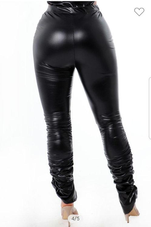 Slit Scrunchie Pants