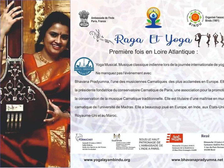 Raga and Yoga flyer