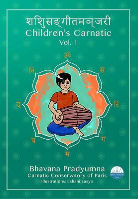 SANSKRIT Children's Carnatic - front cov