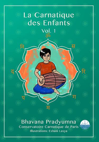Children's Carnatic - front cover French