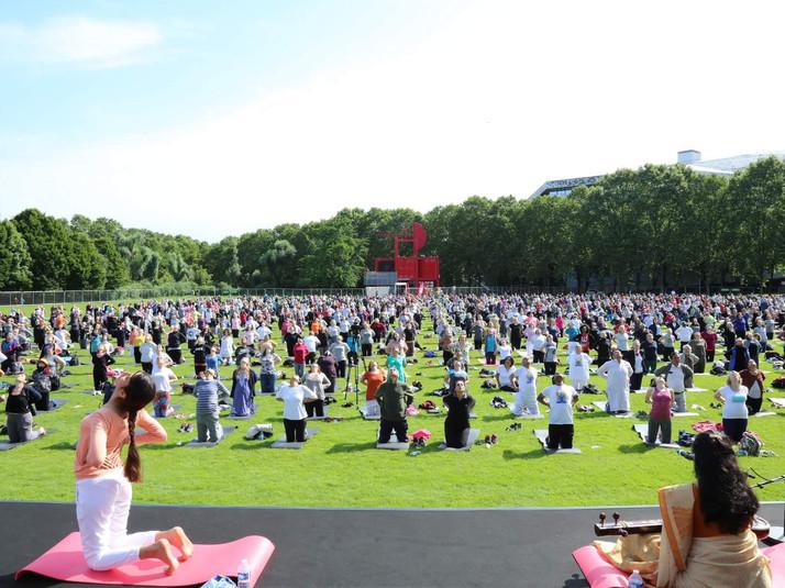 International Yoga Day 2018 - 1