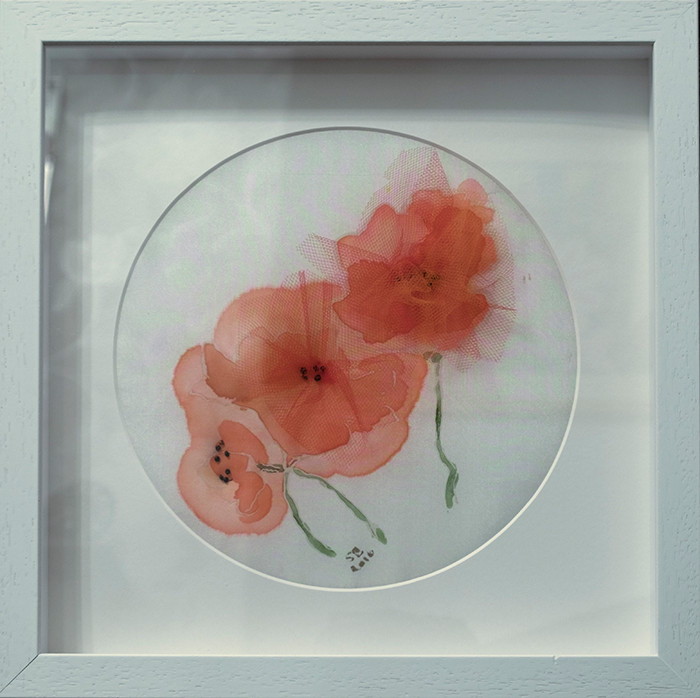 Poppies - Silk & Lace