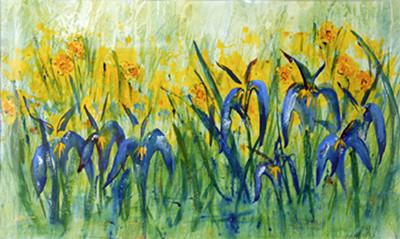 Daffodils & Iris